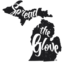 Spread the Glove logo
