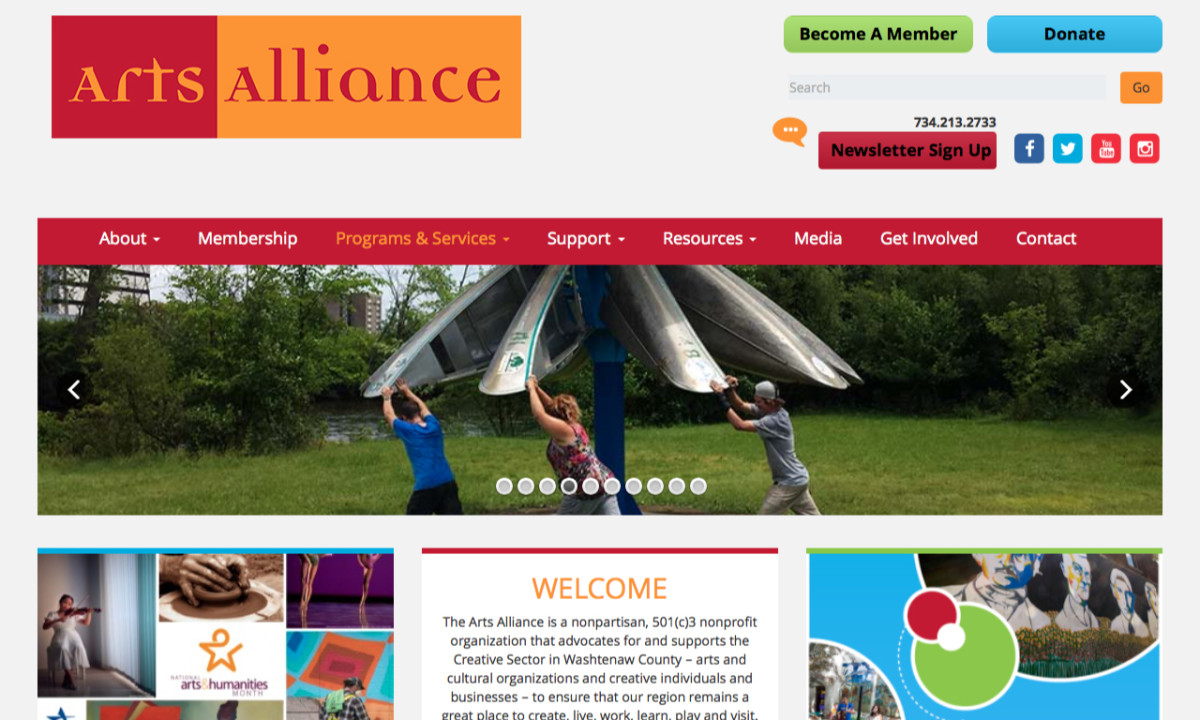 Arts Alliance Homepage