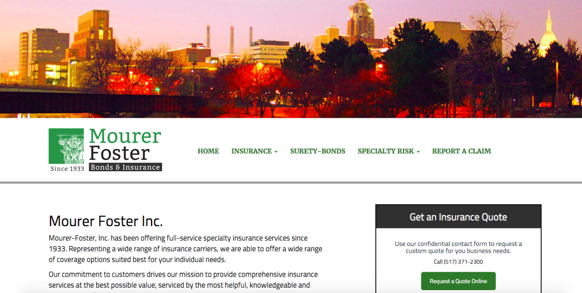 Mourer Foster Homepage