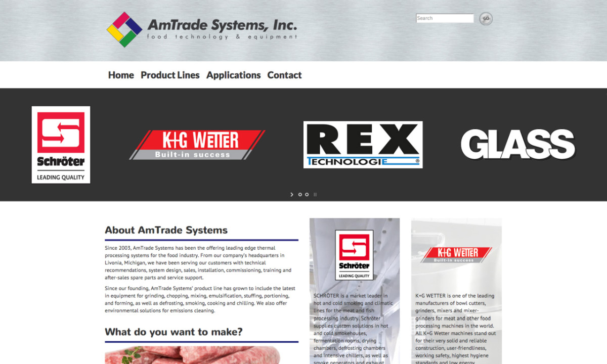 AmTrade Systems Homepage