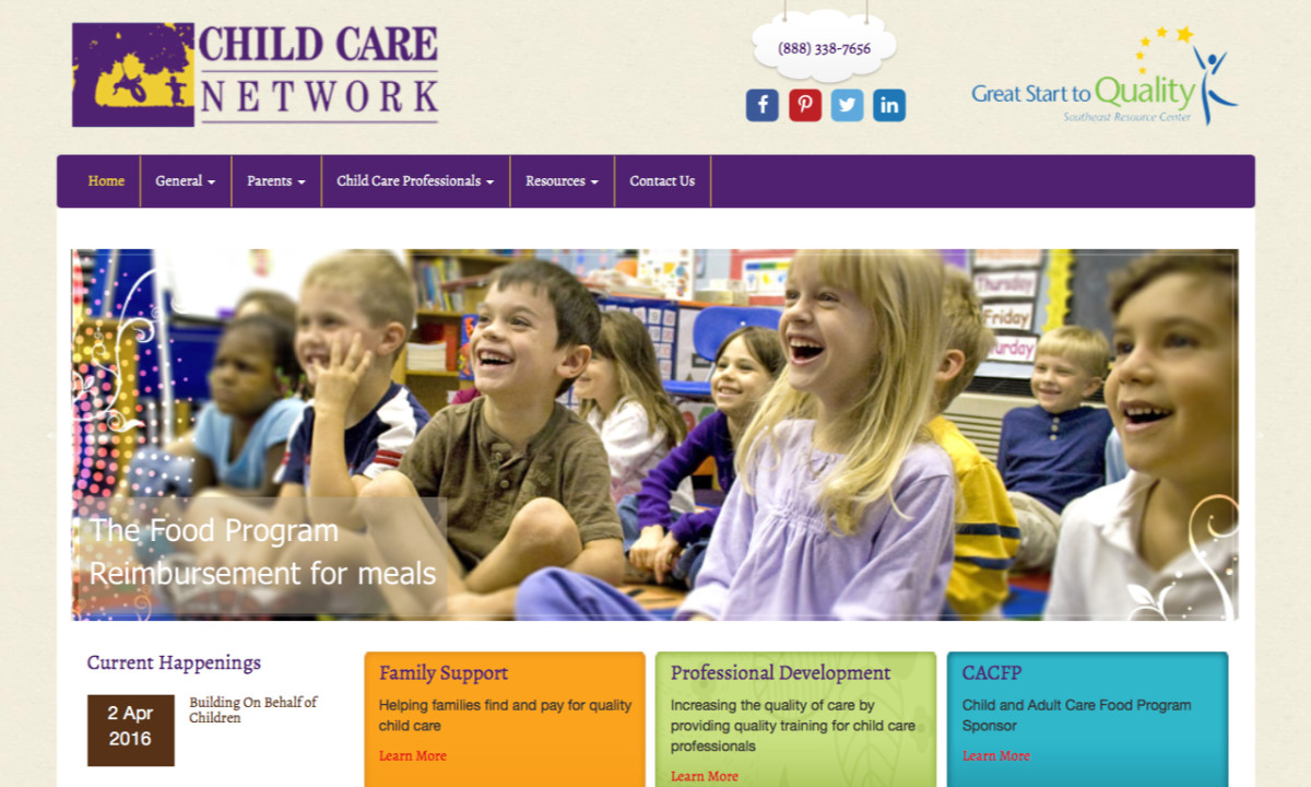 Child Care Network Homepage
