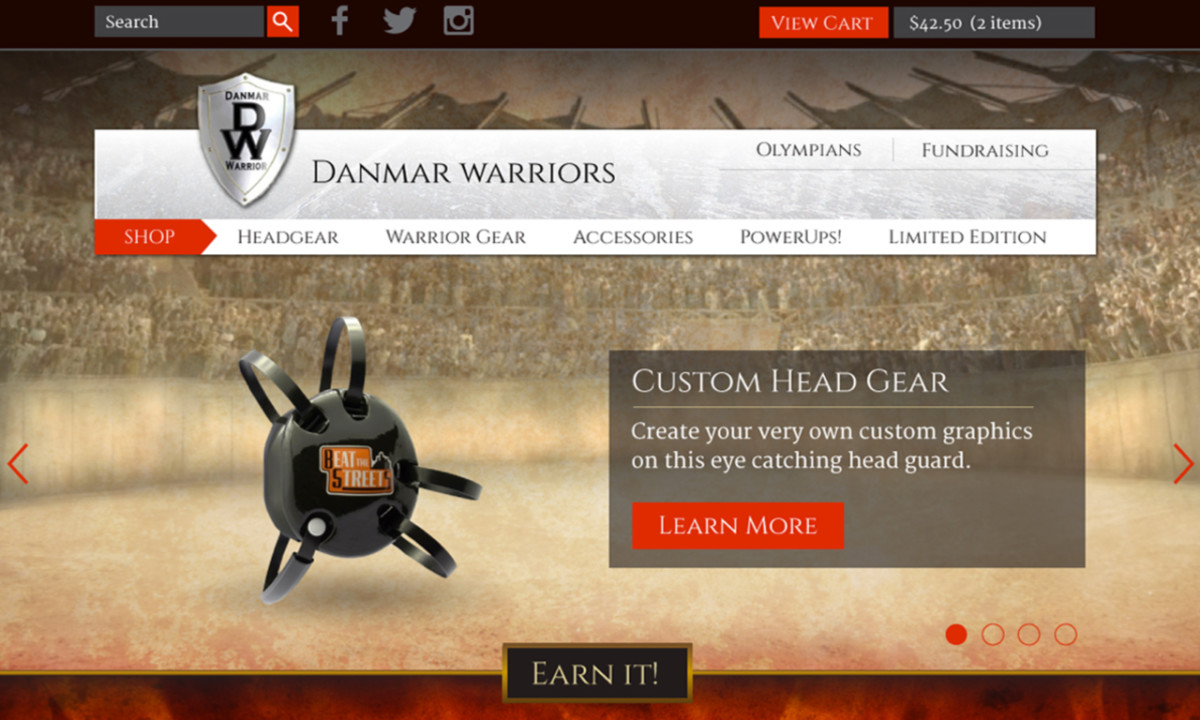 Danmar Warrior Homepage