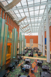 Interior of Ross Business school