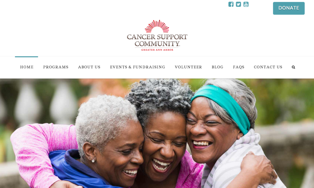 Cancer Support Community homepage