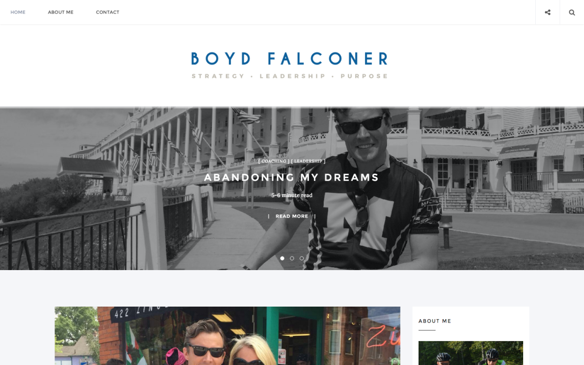 Boyd Falconer homepage