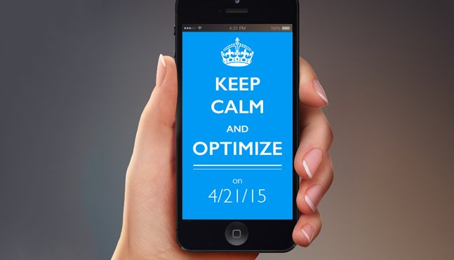 Keep Calm and Optimize on 4/21/15